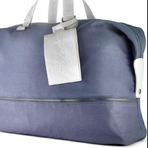 403f7a6d8767 Dolce   Gabbana Handbags - ⭐Dolce   Gabanna⭐ Light Blue Weekender Travel Bag